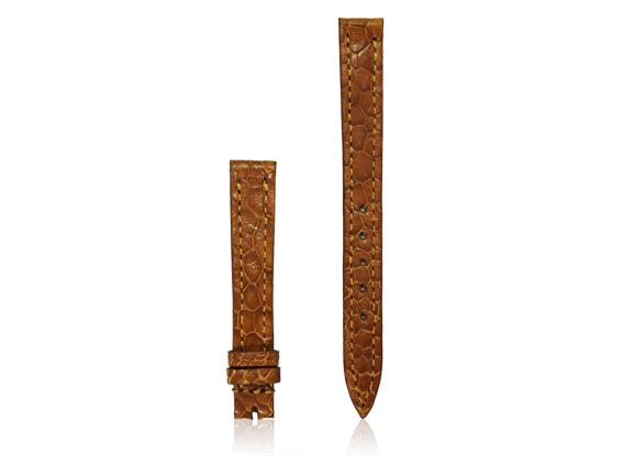 dây đồng hồ da đà điểu size 12 vàng