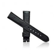 dây đồng hồ da bò size 18 đen