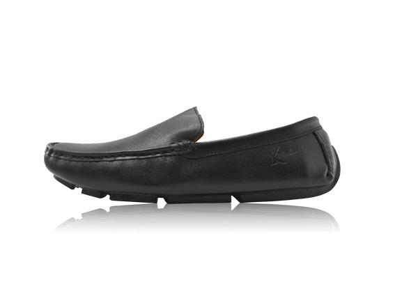 Giày da bò ST33 đen