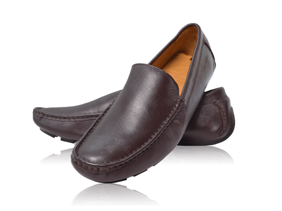Giày da bò ST33 nâu