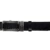 Dây nịt nam da đà điểu 3.5 đen