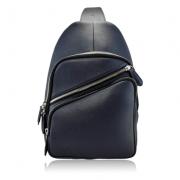 Túi đeo da bò Damrey xanh dương