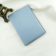 Ví passport da bò Pali xanh xám