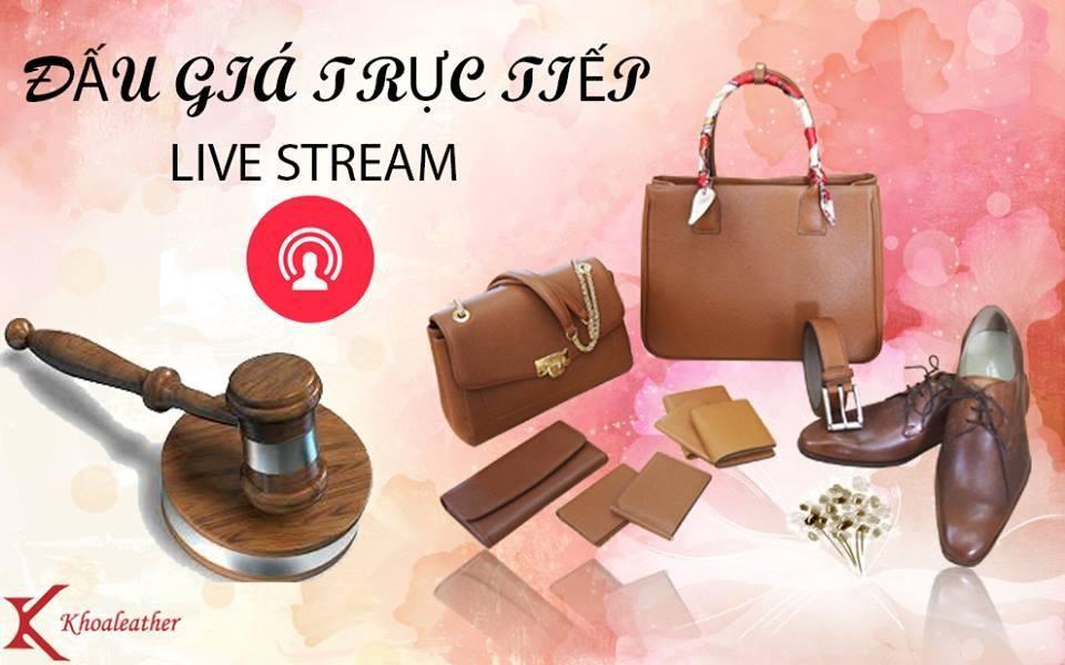 Đấu giá Live stream