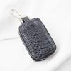 Móc khóa ôtô da cá sấu đen 2