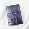 Ví passport da cá sấu Panit xanh đen