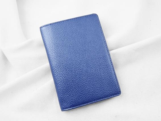 Ví passport da bò Panit T1 xanh tím
