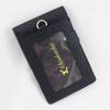 Thẻ đeo bảng tên da bò Sinem đen