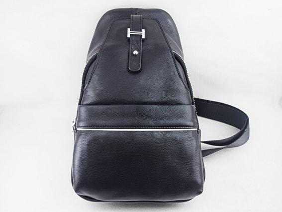 Túi đeo chéo da bò Damrey 1 đen