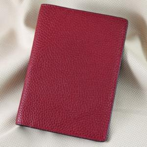 Ví passport da bò Pila đỏ