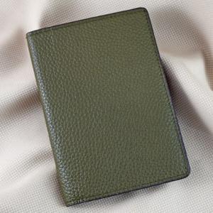 Ví passport da bò Pila rêu