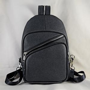 Túi đeo chéo da bò Hida đen