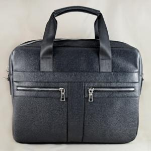 Túi da đựng Laptop Lato đen