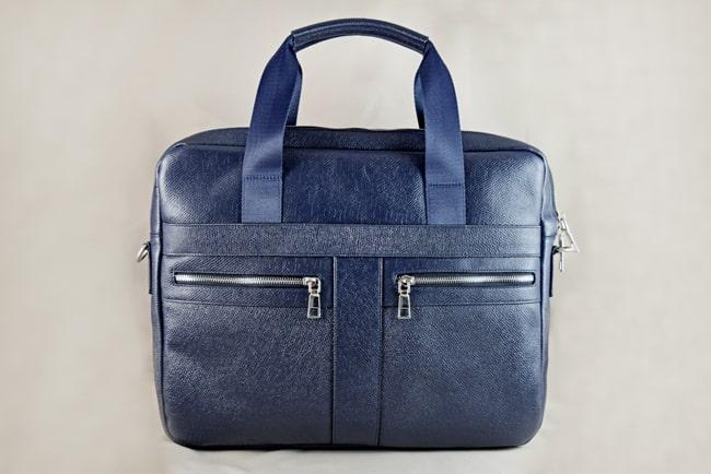 Túi da đựng Laptop Lato xanh đen