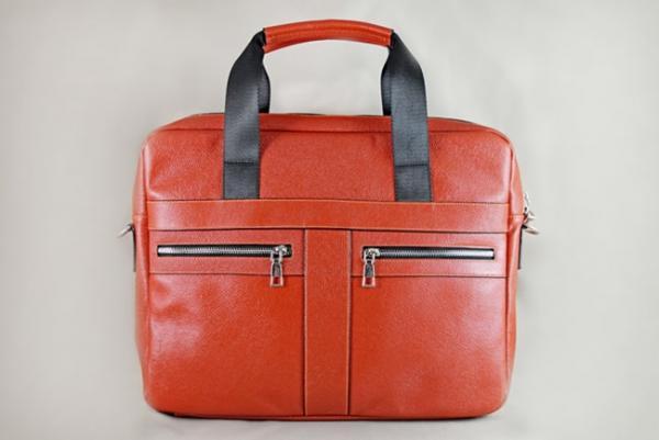Túi da đựng Laptop Lato cam