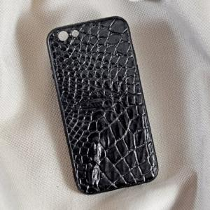 Ốp lưng da cá sấu Iphone 6S đen
