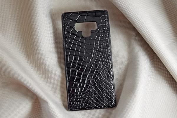 Ốp lưng da cá sấu Samsung NOTE 9 đen