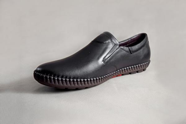 Giày nam da bò 659 đen