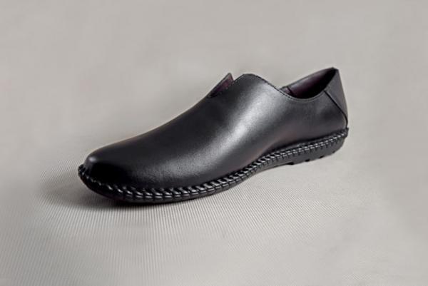 Giày nam da bò 588 đen