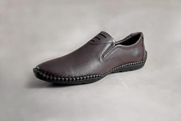 Giày nam da bò 688 nâu