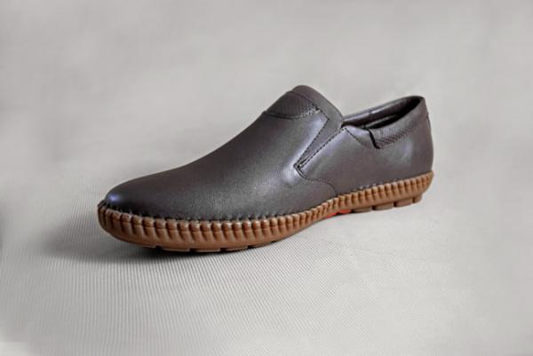 Giày nam da bò 659 nâu