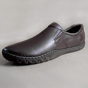 Giày nam da bò 680 nâu