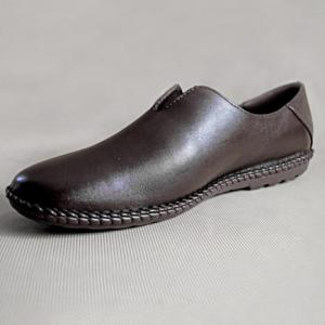 Giày nam da bò 588 nâu