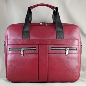 Túi da đựng Laptop Lato đỏ