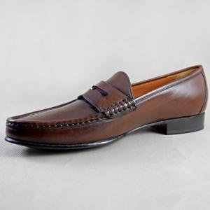 Giày tây da bò KL01 nâu