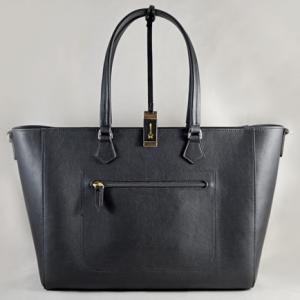 Túi xách nữ da bò Renee Creations đen