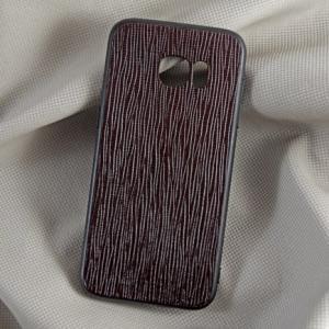 Ốp lưng da bò Samsung S7-EDGE nâu