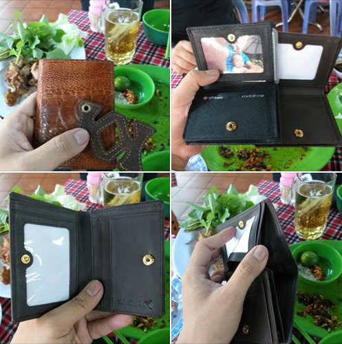 Cảm nhận về ví Tihan đà điểu