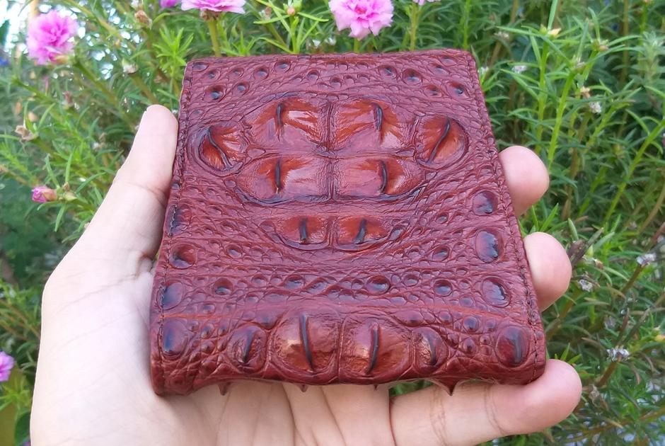 Cảm nhận về ví da cá sấu Gù