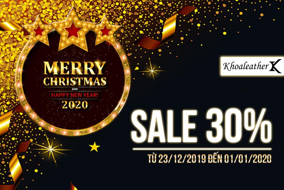 Mừng Giáng Sinh và Năm mới 2020 - SALE 30%