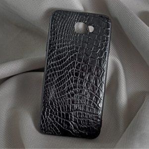 Ốp lưng da cá sấu Samsung J5 Prime đen