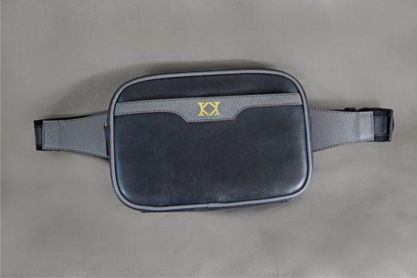 Túi đeo da bò Belt Bag Lion
