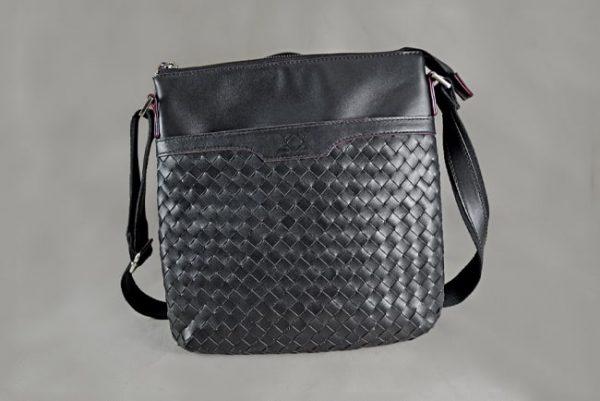 Túi đeo da bò Messenger Bag Nali đan